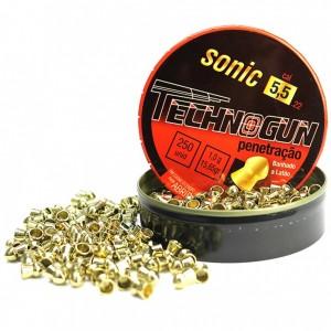 Chumbinhos 5.5 - Sonic com 125 und.